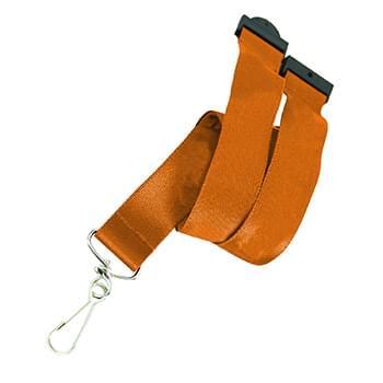 5/8 inch Woven Lanyards w/ Safety Breakaway