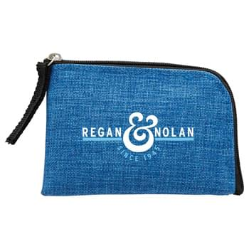 RFID Blocker Card Pouch - This zippered card pouch is great for storing cash, credit cards, or other small accessories.  It  would block RFID signals and protect valuable information stored on RFID chips from  unauthorized scans or unwanted readers.