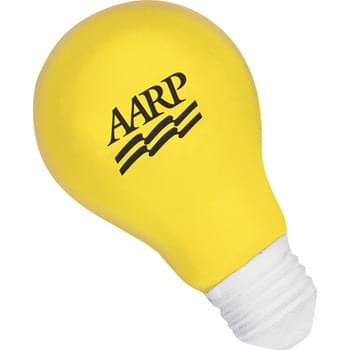 Light Bulb Stress Reliever - Squeezable foam.