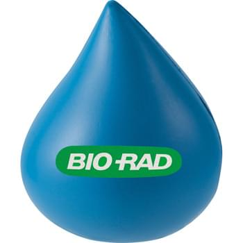 Water Drop Stress Reliever - Squeezable foam.