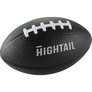 "3-1/2"" Football Stress Reliever - Squeezable foam."