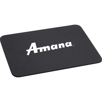 "1/8"" Rectangular Foam Mouse Pad - 1/8"" foam backing.  Computer mouse pad."
