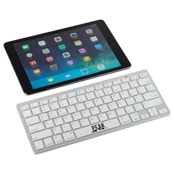 Traveler Bluetooth Keyboard - The small, lightweight sturdy Bluetooth keyboard is perfect to use with tablets, mobile phones, TVs, and other Bluetooth devices that compatible with iOS, Android, Mac system or Windows with Bluetooth function. The operating distance is up to 10 meters.