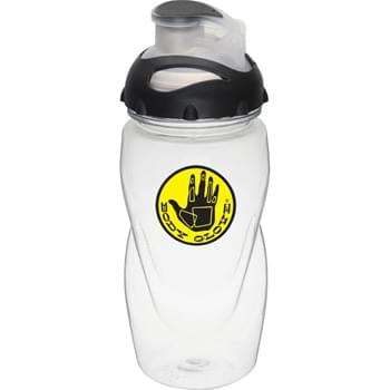 Gobi 17-oz. Sports Bottle - Single-wall construction.  Twist-on lid with flip-top drink opening.