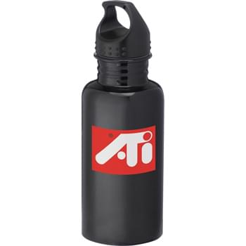 Venture 20-oz. Sports Bottle - Single-wall construction. Twist-on lid.