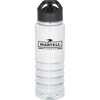Ringer 24-oz. Tritan Sports Bottle - Single-wall construction.  Twist-on lid with flip-top drinking spout.