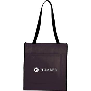 "The Chattanooga Convention Tote - Large open main compartment with double 31"" handles. Unique trolley sleeve pass-through on the back attaches to trolley handles making this bag perfect for tradeshows and conventions."