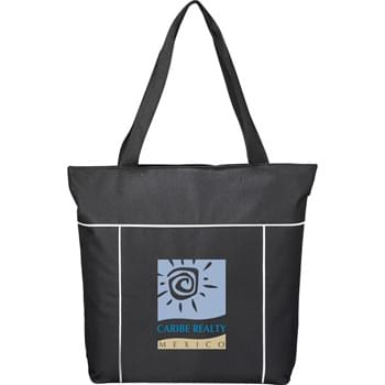"The Broadway Business Tote - Zippered main compartment with double 23"" handles. Great for conventions, meetings and tradeshows."