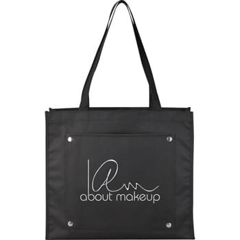 "The Snapshot Meeting Tote - Open main compartment with double 24-1/2"" webbed handles. Open front pocket."