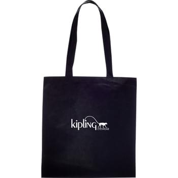 "The Zeus Convention Tote Bag - Slim design perfect for conventions and tradeshows. Open main compartment with double 26"" handles. Reusable and a great alternative to plastic bags."