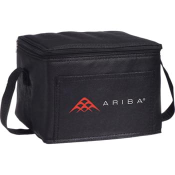 The Sea Breeze Cooler Bag - PEVA insulation. Zippered main compartment. Front open pocket. Carry handle.