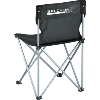 Champion Folding Chair - Portable folding chair perfect for tailgating, picnics and concerts. Includes matching carry case with shoulder strap.