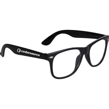 The Sun Ray Fashion Glasses - CLOSEOUT! Please call to confirm inventory available prior to placing your order!<br />Classic folding eyewear with UV 400 protective clear lenses.