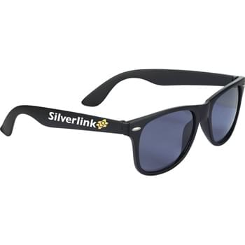 The Sun Ray Sunglasses - Matte - Classic folding eyewear. UV 400 protective lenses.