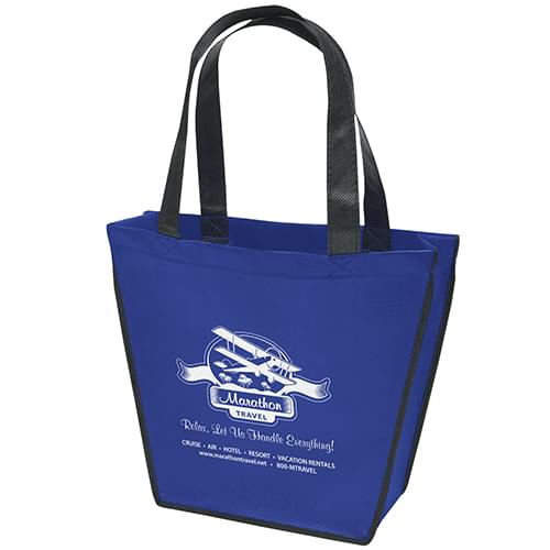 Recyclable Angled Mini Tote Bags
