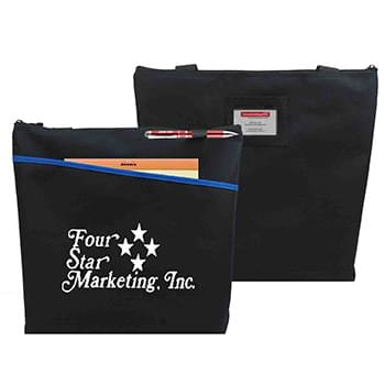 Travelstar Zippered ID Convention Tote
