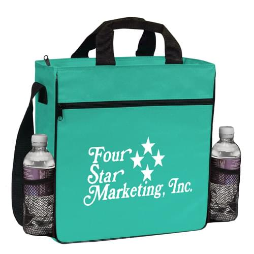 Travelstar Zippered Bottle Pocket Tote - CUSTOM
