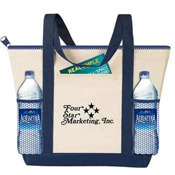 Travelstar Zippered Nautical Tote - CUSTOM